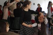 Zurgó-táncház a medgyesi Kolping Gyermekotthonban